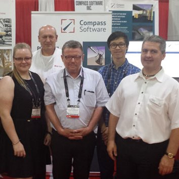 Compass Software Inc. auf der IWF 2016 in Atlanta.