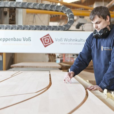 The German stair builder Treppenbau Voß GmbH & Co. KG has been using the Compass Software Plate Optimization Module 2.0 since December 2018.