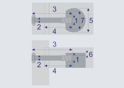 Compass Software now allows for the cutting of leveled pockets for clamping screws.
