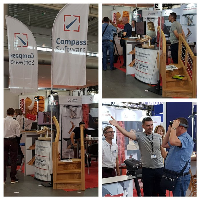 Compass Software sales representative Jens Eckert and our Polish dealers Robert Topka and Michal Suchorzewski exhibited at the DREMA 2018 in Poznan.