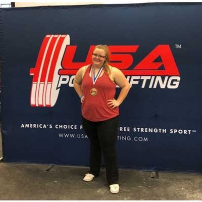 Strong performance: our Atlanta employee Milena Schaefer won first place at the Georgia State Powerlifting Championships in the weight class 84+ kg last weekend.