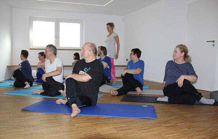 Compass Software has been offering yoga session for employees since the beginning of the year.