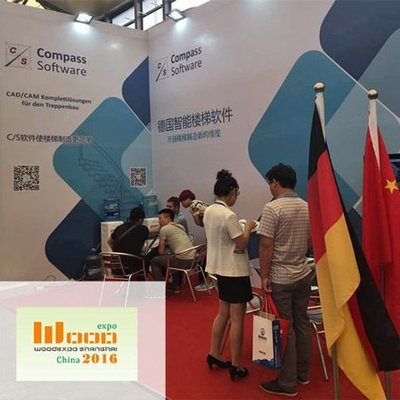 Sales Representative Hermann Hasebrink supported our Chinese Compass Software Partner at the WoodExpo in Shanghai last week.