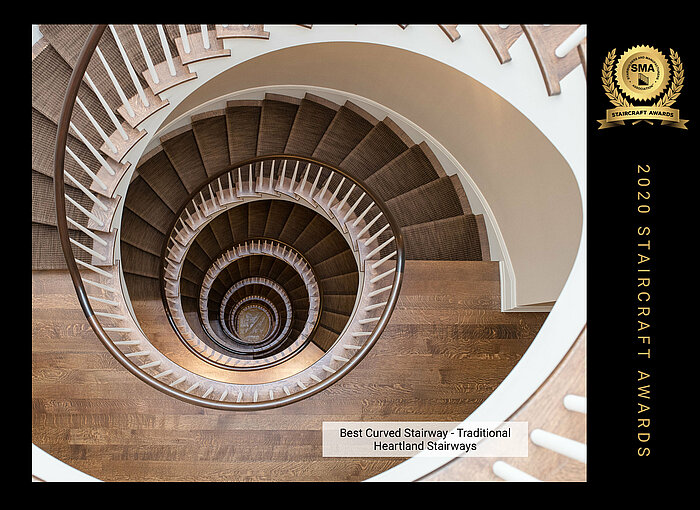Compass Software customer Heartland Stairways winner at SMA StairCraft Awards