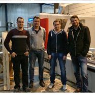 The Compass Software Service recently installed a new post machine at Vos Zwolle B.V. in the Netherlands.