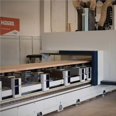Our Service Team connected a new SCM machine with Compass Software at Haas Fertigbau GmbH, a stair builder from Bavaria, Germany.