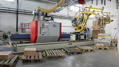 Robotic loading at Verschaeve through Compass Software