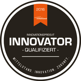 CAM-Timber - our CAM/CNC software solution for wood constructions - has been qualified for the INNOVATION AWARD-IT 2016!